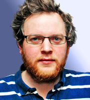 It's Not What You Know. Miles Jupp. Image credit: British Broadcasting Corporation.