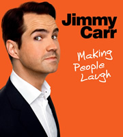 Jimmy Carr: Making People Laugh. Jimmy Carr. Image credit: Bwark Productions.