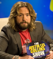 The Justin Lee Collins Show. Justin Lee Collins. Image credit: Objective Productions.