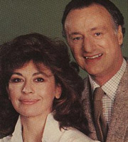 Let There Be Love. Image shows from L to R: Judy (Nanette Newman), Timothy Love (Paul Eddington). Image credit: Thames Television.
