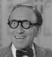 Make Mine A Million. Arthur Ashton (Arthur Askey). Image credit: Jack Hylton Film Productions.