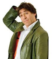 Mark Steel's In Town. Mark Steel. Image credit: British Broadcasting Corporation.