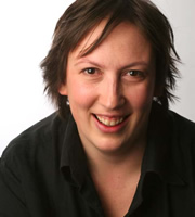 Miranda Hart's Joke Shop. Miranda (Miranda Hart). Image credit: British Broadcasting Corporation.