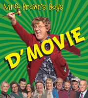 Mrs. Brown's Boys D'Movie. Agnes Brown (Brendan O'Carroll). Image credit: BocPix.