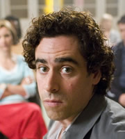 Never Better. Keith Merchant (Stephen Mangan). Image credit: World Productions.