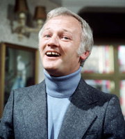 Odd Man Out. Neville Sutcliffe (John Inman). Image credit: Thames Television.