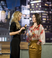 Personal Affairs. Image shows from L to R: Lucy Baxter (Laura Aikman), Nicole Palmerston-Amory (Maimie McCoy). Image credit: 2am TV.