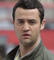 Plus One. Rob Black (Daniel Mays). Image credit: Kudos Productions.
