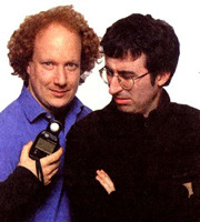 Political Animal. Image shows from L to R: Andy Zaltzman, John Oliver. Image credit: Avalon Television.
