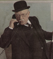 Potter. Redvers Potter (Arthur Lowe). Image credit: British Broadcasting Corporation.