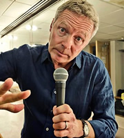 2014 - The Rory Review. Rory Bremner. Image credit: The Comedy Unit.