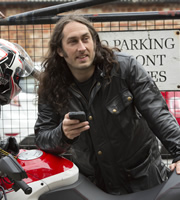 Ross Noble Freewheeling. Ross Noble. Image credit: North One Television.