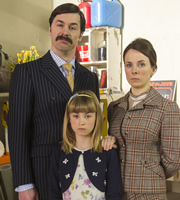 Ruby Robinson. Image shows from L to R: Geoffrey (Mike Wozniak), Alice (Charlotte Glenister), Virginia (Cariad Lloyd). Image credit: King Bert Productions.