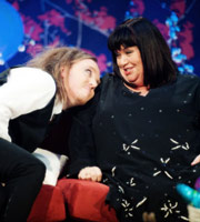 Ruth Jones. Image shows from L to R: Tim Minchin, Dawn French. Copyright: Tidy Productions.