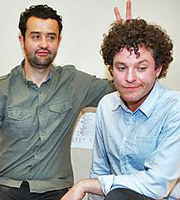 Seekers. Image shows from L to R: Joe (Daniel Mays), Stuart (Mathew Horne). Image credit: British Broadcasting Corporation.