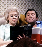 Terry & June. Image shows from L to R: June Medford (June Whitfield), Terry Medford (Terry Scott). Image credit: British Broadcasting Corporation.