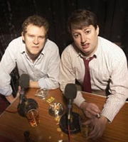 That Mitchell & Webb Sound. Image shows from L to R: Robert Webb, David Mitchell. Image credit: British Broadcasting Corporation.