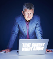 That Sunday Night Show. Adrian Chiles. Image credit: Avalon Television.