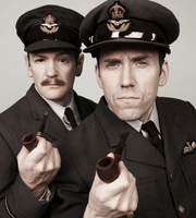 The Armstrong & Miller Show. Image shows from L to R: Alexander Armstrong, Ben Miller. Image credit: Hat Trick Productions.