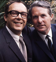 The Eric Morecambe And Ernie Wise Show. Image shows from L to R: Eric Morecambe, Ernie Wise. Image credit: British Broadcasting Corporation.