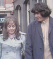 The Lovers. Image shows from L to R: Beryl (Paula Wilcox), Geoffrey (Richard Beckinsale). Image credit: Granada Television.