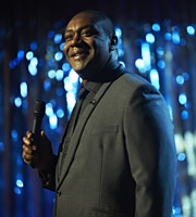 The One.... Lenny Henry. Image credit: British Broadcasting Corporation.
