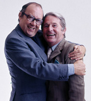 The Perfect Morecambe & Wise. Image shows from L to R: Eric Morecambe, Ernie Wise. Image credit: British Broadcasting Corporation.