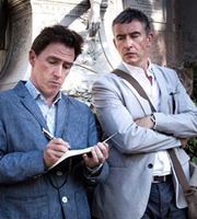 The Trip. Image shows from L to R: Rob (Rob Brydon), Steve (Steve Coogan). Image credit: Baby Cow Productions.