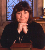The Vicar Of Dibley. Geraldine Grainger (Dawn French). Image credit: Tiger Aspect Productions.