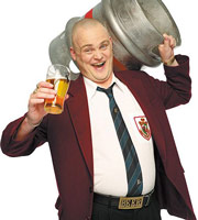 Time Gentlemen Please. Guv (Al Murray). Image credit: Avalon Television.