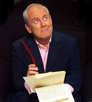 Wordaholics. Gyles Brandreth. Image credit: British Broadcasting Corporation.