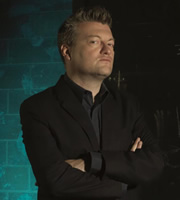 You Have Been Watching. Charlie Brooker. Image credit: Zeppotron.