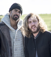 24 Hours To Go Broke. Image shows from L to R: David Haye, Seann Walsh. Copyright: Renegade Pictures.