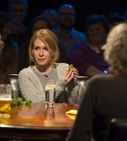 Alan Davies: As Yet Untitled. Lucy Beaumont. Image credit: Phil McIntyre Entertainment.