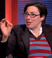 Alexander Armstrong's Big Ask. Sue Perkins. Copyright: Black Dog Television / So Television.