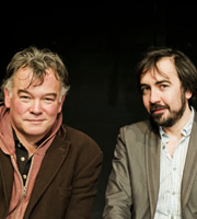 The Alternative Comedy Experience. Image shows from L to R: Stewart Lee, Stephen Carlin. Copyright: Comedy Central.