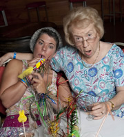 Benidorm. Image shows from L to R: Pauline (Selina Griffiths), Noreen Maltby (Elsie Kelly). Copyright: Tiger Aspect Productions.
