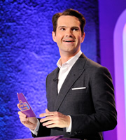 The Big Fat Quiz Of The Year. Jimmy Carr. Copyright: Hot Sauce / Channel 4 Television Corporation.