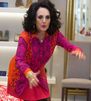 Birds Of A Feather. Dorien Green (Lesley Joseph). Copyright: Alomo Productions / Retort.