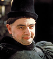 Blackadder. Edmund, Duke of Edinburgh (Rowan Atkinson). Copyright: BBC / Tiger Aspect Productions.