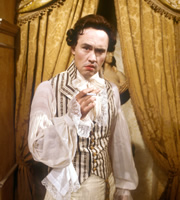 Blackadder. Lord Smedley / The Scarlet Pimpernel (Nigel Planer). Copyright: BBC / Tiger Aspect Productions.