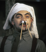Blackadder. Captain Edmund Blackadder (Rowan Atkinson). Copyright: BBC / Tiger Aspect Productions.
