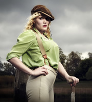 Blandings. Monica Simmons (Emerald Fennell). Copyright: Mammoth Screen.