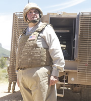 Bluestone 42. Colonel Randall Carter (Mike McShane). Copyright: BBC.