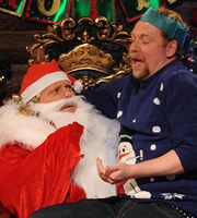 Celebrity Juice. Image shows from L to R: Leigh Francis, Rufus Hound. Copyright: Talkback / TalkbackThames.