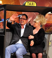 Alan Carr: Chatty Man. Image shows from L to R: Alan Carr, Barbara Windsor. Copyright: Open Mike Productions.