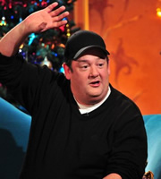 Alan Carr: Chatty Man. Johnny Vegas. Copyright: Open Mike Productions.