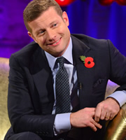 Alan Carr: Chatty Man. Dermot O'Leary. Copyright: Open Mike Productions.