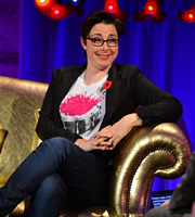 Alan Carr: Chatty Man. Sue Perkins. Copyright: Open Mike Productions.