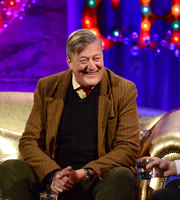 Alan Carr: Chatty Man. Stephen Fry. Copyright: Open Mike Productions.